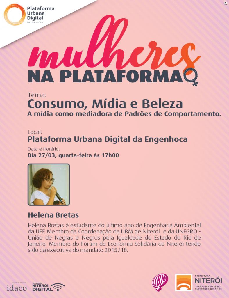 Mulheres na Plataforma - Consumo, mídia e beleza